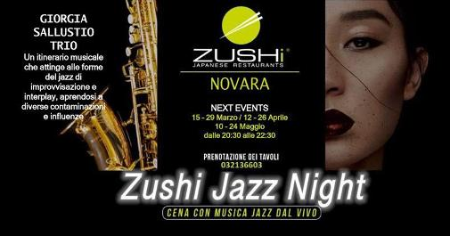 15 marzo 2019 - Novara - Zushi Jazz Night